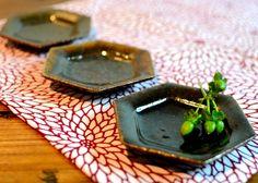 豆皿(六角)|鈴木 稔(Minoru Suzuki)
