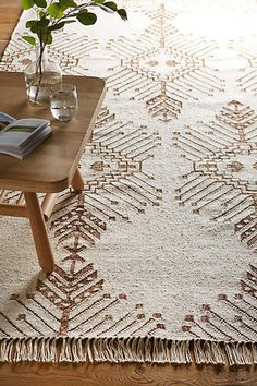 Gilt Stitch Rug - #anthroregistry
