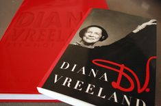 """Diana Vreeland: An Illustrated Biography is an elegant book that details Vreeland's life from her society upbringing to her days as """"Special Consultant"""" at the Costume Institute of the Metropolitan Museum of Art. Vibrant, rich and strong, the book cover is in Vreeland's signature red – a color that was synonymous with her. And appropriately enough, because of her influence at Vogue as Editor in Chief, the preface is written by Vogue's Editor at Large André Leon Talley."""