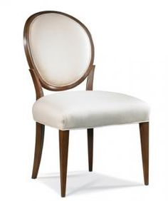 Custom=Pick your own finish & fabric Hickory White - 531-64-55 Side Chair