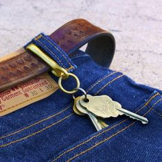 Good Worth and Co. Brass Key Ring.