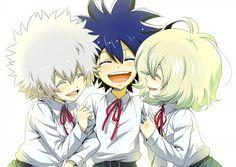 Tags: Anime, Daimon Kaito, Phi Brain: Kami No Puzzle, Rook Banjou Crossfield, Pixiv Id 1328630