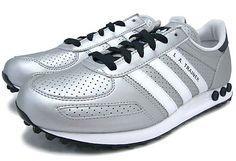 adidas Originals LA TRAINER [Metallic Silver/White/Legend Ink] Q20738