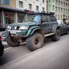 "Nissan Patrol Gr Y61 Wagon 40"" Jeep Truck, 4x4 Trucks, Best 4x4 Cars, Nissan Patrol Y61, Patrol Gr, Nissan Terrano, Nissan Titan, Mitsubishi Pajero, Nissan Pathfinder"