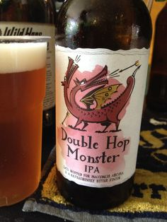 Greene King Double Hop Monster (Bottle) Brewed by Greene King Style: India Pale Ale (IPA) Bury St. Edmunds, England