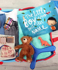 Favorite crayons? Check. Favorite teddy? Check. How about his new favorite book? Lost My Name is a wonderful, personalized story, based on a child's name - a must-pack for some vacation magic!