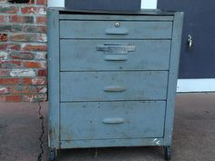 Mechanic Tool Box, Toolbox, Filing Cabinet, 1950s, Search, Storage, Google, Furniture, Home Decor