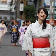 Yukata - one of the symbols of summer in Japan