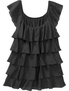 Ruffle Tiered Top from Old Navy, Spring 2011