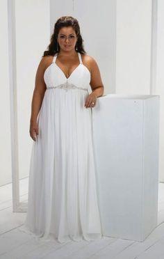 Plus Size Brides  Beautiful plus size curves don't fit in a size zero #curvywomen #plussizewomen #plussizebride