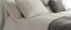 Shalford Satin Stripe Dove Grey Cotton Duvet Cover at Laura Ashley Home Bedroom, Bedroom Decor, Neutral Bedding, Childrens Room Decor, Cotton Duvet, Dove Grey, Laura Ashley, Sweet Dreams, Home Projects
