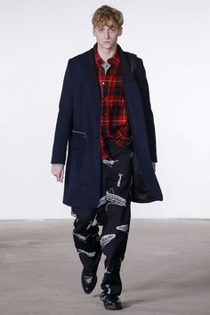 Sfilata Moda Uomo Tim Coppens New York - Autunno Inverno 2016-17 - Vogue