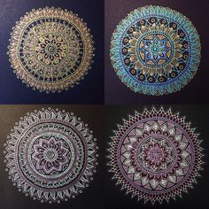 Four Mandalas | Flickr - Photo Sharing!