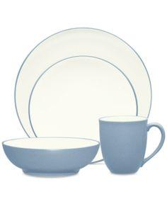 Lenox \'Hannah Platinum\' 20-piece Dinnerware Set, White (Bone China ...