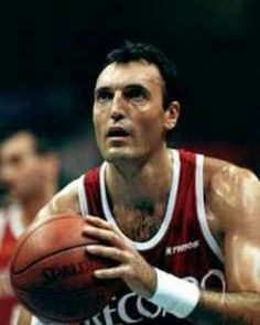 Dino Meneghin (Italian born January 18, 1950) is an Italian former professional basketball player. He is widely considered as the best Italian player ever, as well as one of Europe's all time greats. A 2.06 m (6 ft 9 in) tall center, Meneghin was born in Alano di Piave, Veneto (northeast Italy). On November 20, 1966, when he was 16 years old, he played his first match in the Italian League with Ignis Varese. He played the last match of his career at the age of 45. Today, he works for the…
