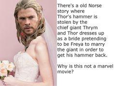 Thor the transvestite