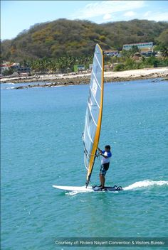 Windsurfing combines the best of two passions: sailing, and the thrill of riding over the waves on a board.