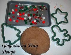 Gingerbread Play Dough by agormley