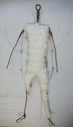 making an art doll: