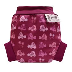 Close Parent Pop-in Reusable Swim Nappy Pink Turtle - Perfect for by the pool or beach!