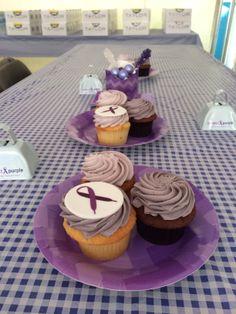 #purpleparty #partyplanning #cupcakes. 10/27/2013 --Project Purple event at Marine Corps Marathon, Washington, DC.