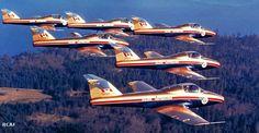 "RCAF ""Golden Centennaires"" CT-114 Tutor"