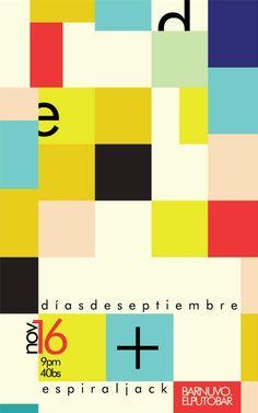 Días de Septiembre + Espiral Jack 16/11/2012