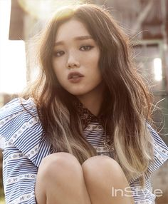 Lee Sung Kyung for Instyle Korea September 2015. Photographed by Ahn Joo Young