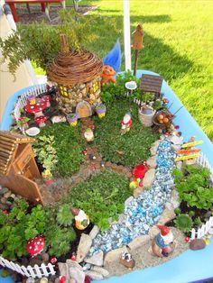My gnome garden.