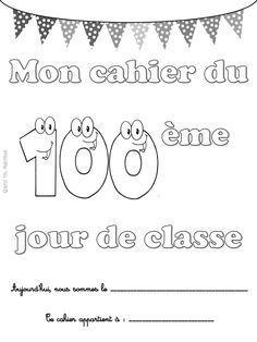Quand t'es maicresse tu fêtes le 100ème jour de classe. 100th day of class