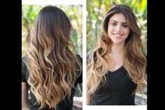 californianas em cabelos castanhos - Pesquisa Google