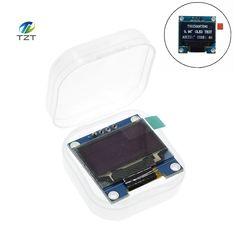 """Biały kolor 128X64 OLED LCD Wyświetlacz LED Moduł Dla Arduino 0.96 """"IIC I2C Seryjny nowa oryginalna"""