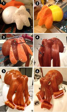 BONUS: Check out this step-by-step guide on how to make your own octopus hair piece!