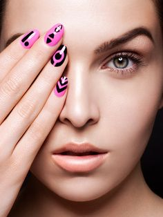 Nails by Christina Culver & Makeup by Sonia Leal-Serafim