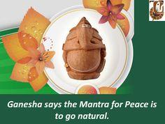 #Gogreen this #Ganeshchaturthi.   #ecofriendlyganesha #ganesha #festival #lordganesh #ganesutsav #environment