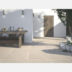 Dunsen Ivory Floor Tiles from Tile Mountain only per tile or per sqm. Order a free cut sample, dispatched today - receive your tiles tomorrow Small Bathroom With Tub, Small Bathroom Layout, Bathroom Colors, Bathroom Store, Beach Bathrooms, Bathrooms Online, Basin Unit, Outdoor Tiles, Other Rooms