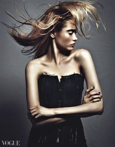 Fresh Summer Time. Vika @ Pinkerton Model and Talent Co. MUA/Hair: Kristina Goldberg Design by Lloyd Klein © Benjo Arwas Photography