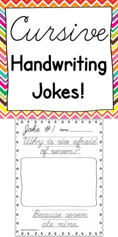 Fun ways to teach cursive- for parents- because ohio common core won't give our children a signature!Fun ways to teach cursive- for parents- because ohio common core won't give our children a signature! Improve Handwriting, Cursive Handwriting, Handwriting Practice, Penmanship, Handwriting Activities, Handwriting Worksheets, 3rd Grade Writing, 3rd Grade Reading, Third Grade