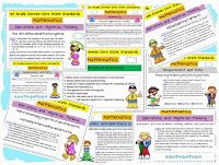 Free posters for 1st grade CCSS Math