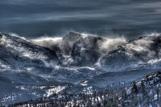 Storm on the Divide by Greg Wigler on 500px
