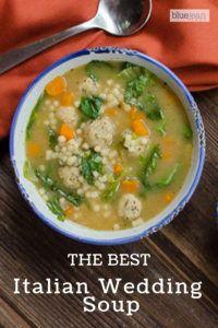 Italian Wedding Soup Blue Jean Chef Meredith Laurence Recipe Wedding Soup Italian Wedding Soup Italian Wedding Soup Recipe