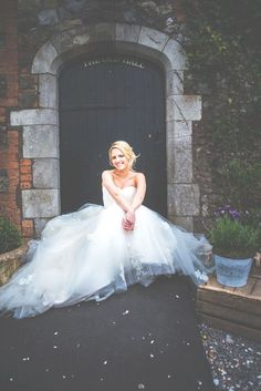 Barn Wedding Country and Vintage Real Wedding at Pencoed House