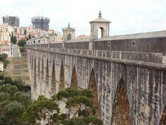 Aqueduto Águas Livres: do Vale de Alcântara às Amoreiras - Lisboa
