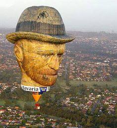 Oh wow! VanGogh hot air balloon.