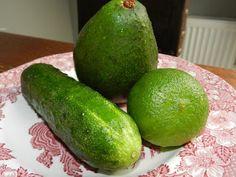 #awokado #limonka #ogórek