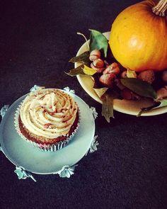 Pumpkin and Cinnamon Cupcakes