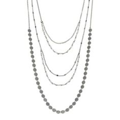 more flat circle chains and more regular chains with the beaded chains