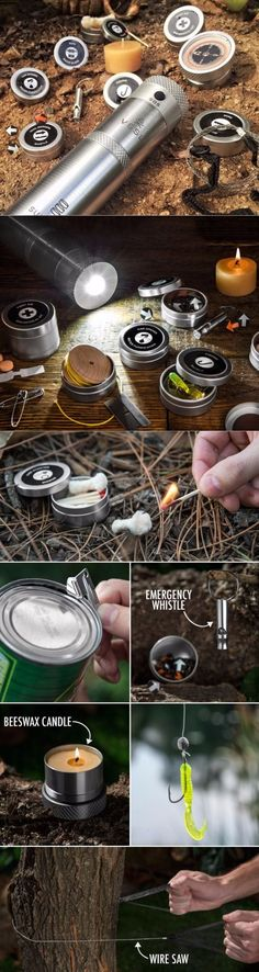 VSSL Supplies - EDC Essential Camping Gear for the Outdoors Survival #edc #everydaycarry