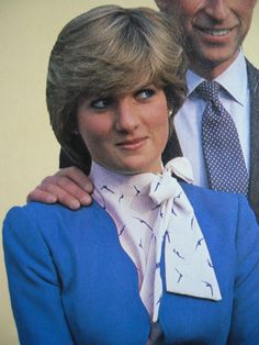 February 24, 1981: Prince Charles and his fiancé, Lady Diana give an interview after the announcement of their engagement.