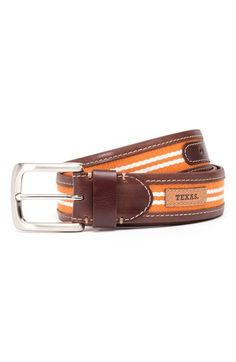 Jack+Mason+Brand+'Texas+Longhorns+-+Tailgate'+Belt+available+at+#Nordstrom